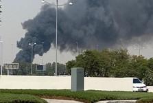 وقوع آتش سوزی مهیب در دبی