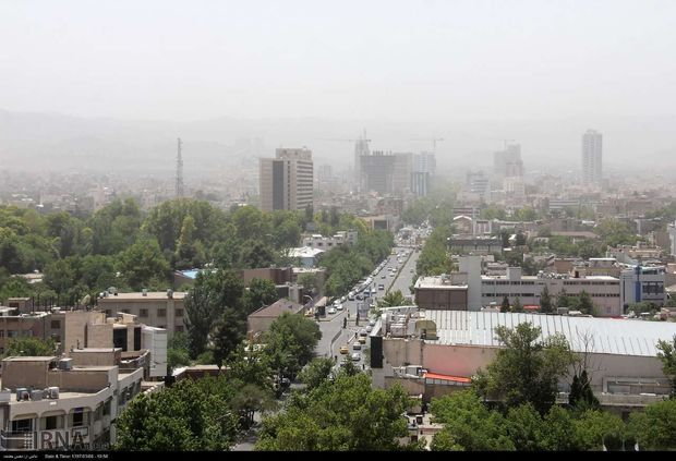 هوای مشهد برای هشتمین روز پیاپی آلوده است