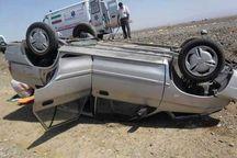 ۲ کشته و پنج زخمی در تصادفات شهرستان خاتم