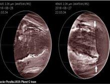 ابر اسیدی عظیمی در سیاره زهره رصد شد