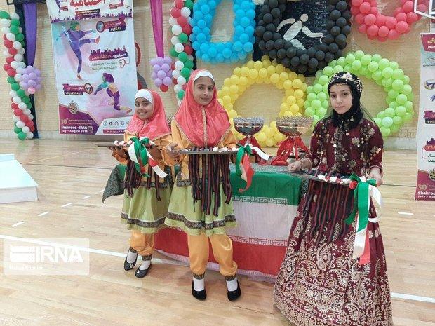 رقابتهای ورزشی دختران مدارس کشور در شاهرودپایان یافت