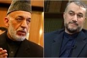 درخواست حامد کرزی از ایران در تماس تلفنی با وزیر خارجه/ امیرعبداللهیان: تجارت با افغانستان را ادامه خواهیم داد