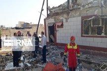 انفجار گاز در آبادان پنج مصدوم برجاگذاشت