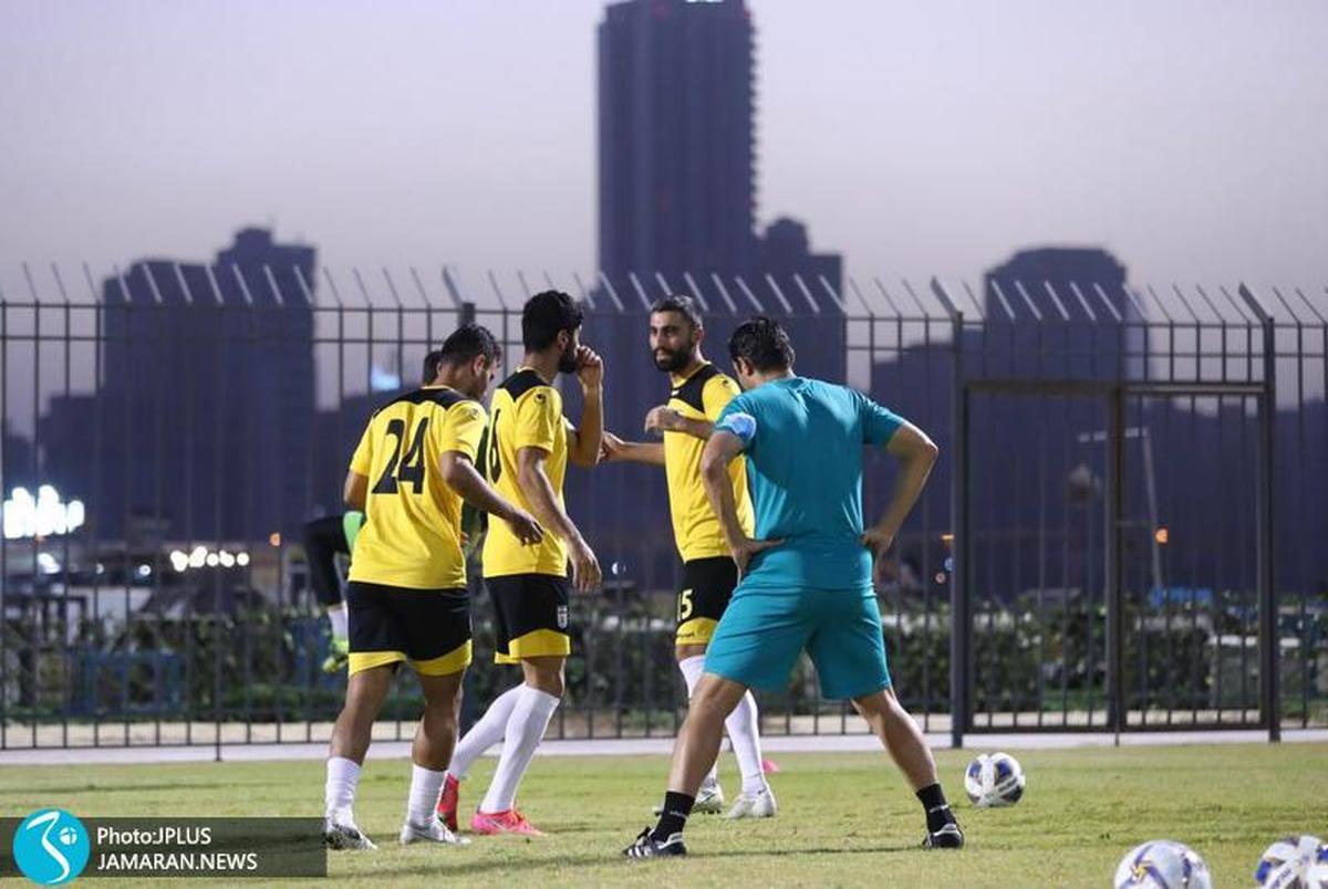 شروع تمرینات تیم ملی بعد از منفی شدن تست کرونای ملیپوشان