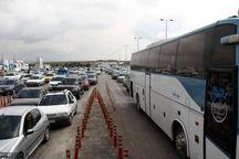 ترافیک تعطیلات آخر هفته در شهرهای ساحلی مازندران