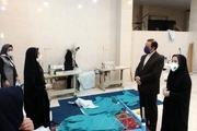 روزانه ۵۰ دست لباس بیمارستانی در دورود تولید میشود