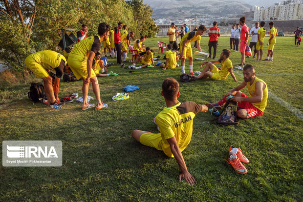 ۵۰ مدرسه فوتبال استان تهران پلمب شد