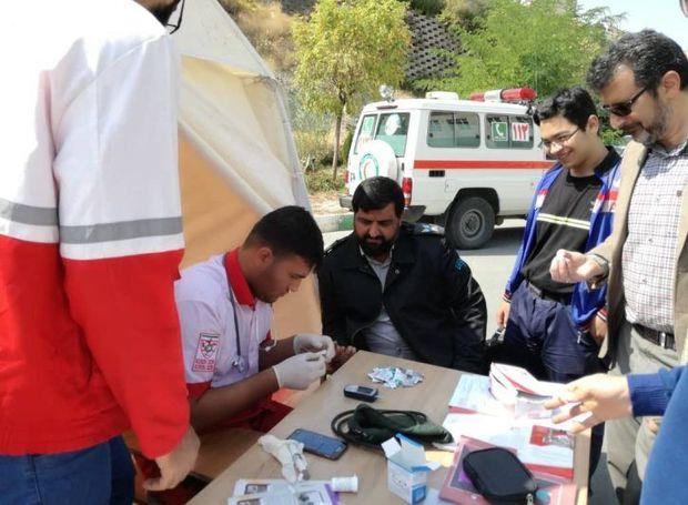 ۷۵۰۰ نفر از خدمات ایستگاههای هلال احمر قزوین بهرهمند شدند