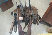 دستگیری ۳ شکارچی متخلف در منطقه حفاظت شده سهند
