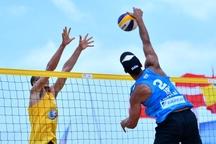 والیبالیست های ساحلی گلستان در تور آسیایی درخشیدند