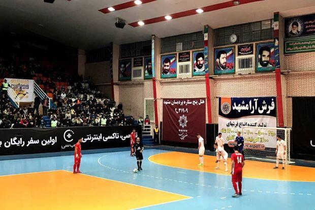 تیم فوتسال ایران تیم اسلواکی را شکست داد