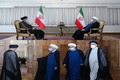 دومین دیدار رییسی با روحانی پس از انتخابات + عکس