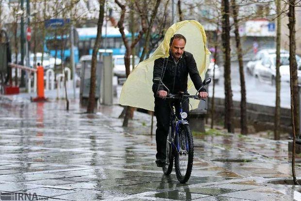 هوای مازندران از دوشنبه سرد و بارانی میشود