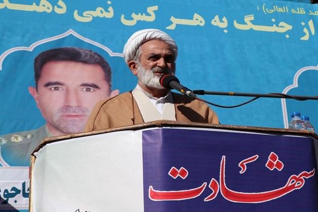 امنیت ایران اسلامی مرهون فدارکاری شهداست