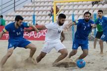 تیم فوتبال ساحلی دهیاری ملاباشی یزد، بوشهر را شکست داد