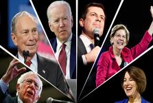 مناظره دموکرات ها: حمله به تازه وارد میلیاردر+ تصاویر
