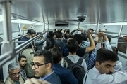 مسافران بدون ماسک در مترو و اتوبوس پایتخت