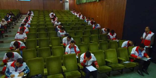 نجاتگران گیلان در مرحله دوم آزمون تربیت مربی شرکت کردند
