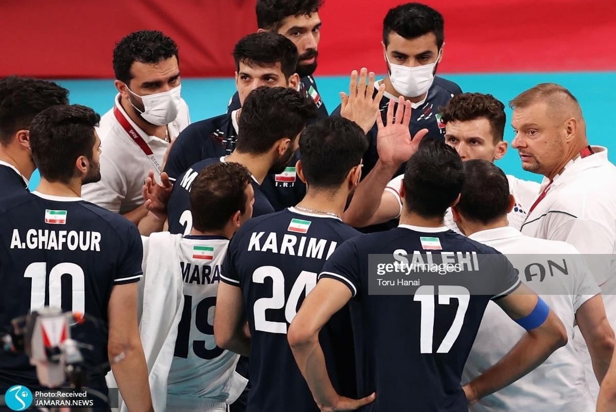 سقوط چهارپله ای والیبال ایران نسبت به ریو/ ایران مشترکا با آمریکا نهم شد