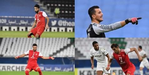 آمار تیم های پرسپولیس و النصر در لیگ قهرمانان آسیا