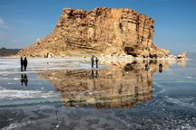 حجم آب دریاچه ارومیه 630 میلیون مترمکعب افزایش یافت