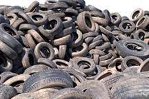 50 تن پسماند لاستیک فرسوده در شهرستان ری کشف شد