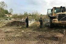 بیش از 11 هکتار از اراضی ملی و ساحلی منطقهآزاد انزلی رفع تصرف شد