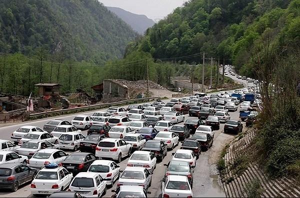 جاده کندوان و هراز 28 و 29 اسفند یکطرفه میشود