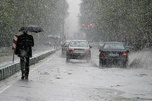 بارش باران وبرف آذربایجانغربی را فرا گرفت