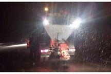 تیم های برف روب البرز در جاده کرج - چالوس مشغول فعالیت شدند