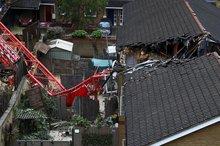 سقوط جرثقیل در شرق لندن