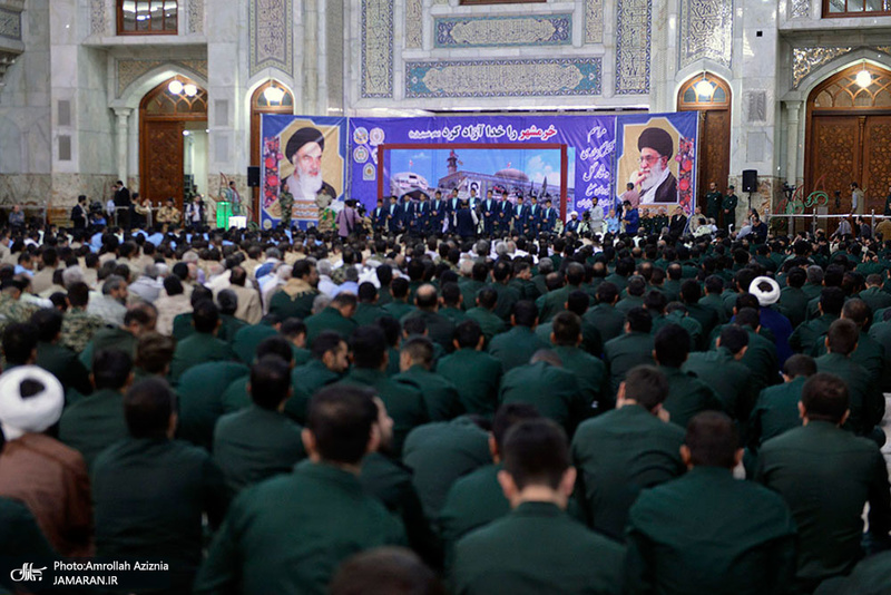 تجدید بیعت نیروهای مسلح با آرمانهای امام خمینی(س)