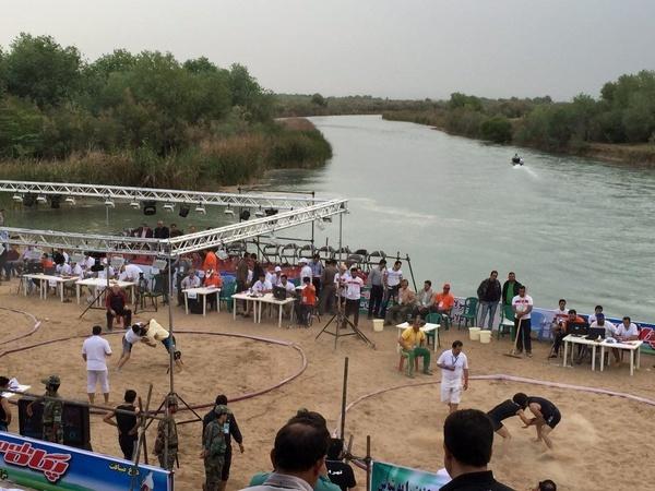 اعزام تیم نیوسادگیلان  در  رقابتهای کشتی ساحلیتونی