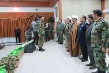 نیروهای برتر ارتش شمال شرق در جشنواره خوبان تقدیر شدند