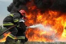آتشسوزی 8 باب مغازه در رشت  حادثه تلفات جانی نداشت
