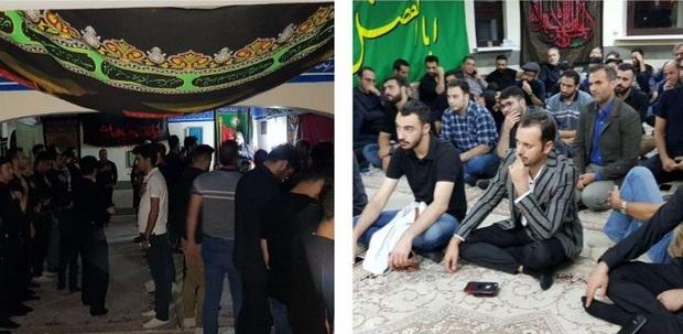 عزاداری شب عاشورای حسینی در بلاروس