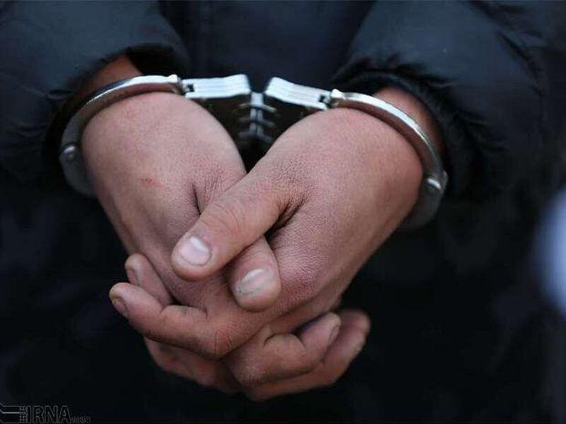 یکی از عوامل سرقت مسلحانه طلافروشی گتوند دستگیر شد