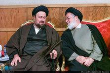 تسلیت سید حسن خمینی در پی درگذشت حجت الاسلام و المسلمین شهیدی