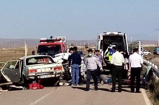 تصادف مرگبار در جاده یاسوج به اصفهان