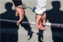سارق مسلح در کرمانشاه به دام پلیس افتاد