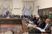 برگزاری جلسه ستاد ملی مدیریت کرونا به ریاست روحانی