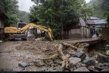 شرایط منطقه سیل زده رحیم آباد رودسر در حال عادی شدن است