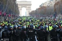 جلیقه زردهای فرانسه در شهرهای مختلف به خیابان ها آمدند