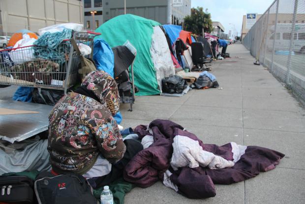 شدت گرفتن بحران بی خانمانها در لس آنجلس و سان فرانسیسکو