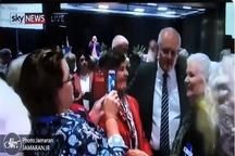 حمله به نخست وزیر استرالیا با تخم مرغ+ عکس