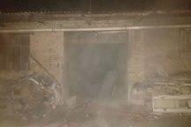 آتشسوزی کارگاه چوببری در جاده «تبریز- آذرشهر»