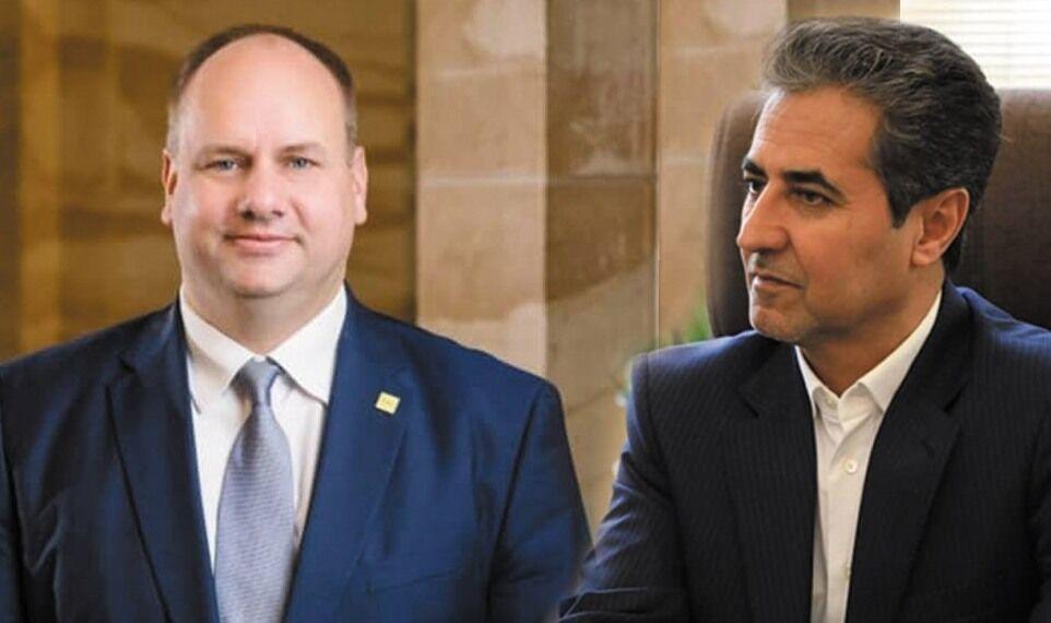تبریک سال نو شهردار درسدن آلمان به اهالی شیراز
