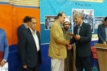 تجلیل مدیرکل ورزش استان از رئیس دانشگاه علوم پزشکی لرستان