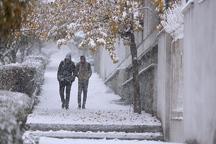 بارش برف در آذربایجان غربی تا بعدازظهر ادامه دارد