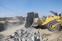 پنج هکتار از زمین های ملی منابع طبیعی در بندرخمیر رفع تصرف شد